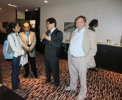 Dr Kirsten mit Prof Yoshimura Tokio
