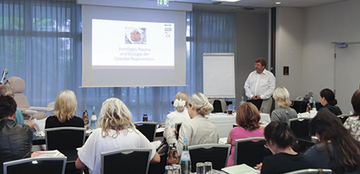 Fortbildung, Seminare, Workshops zum Thema PRP, Fadenlifting, Praxis Klinik Doktor Kirsten in Berlin