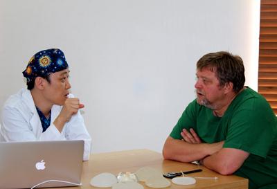 Reise nach Korea in die Klinik fuer Stammzellen Behandlung