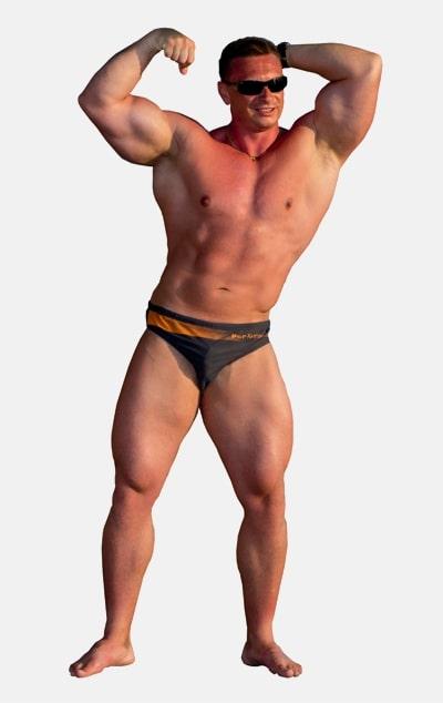Dehnungsstreifen beim Bodybuilding-